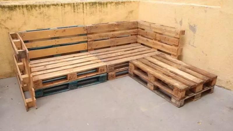Cómo hacer un sofá de palets cómodo Handfie DIY - Terrazas Con Palets