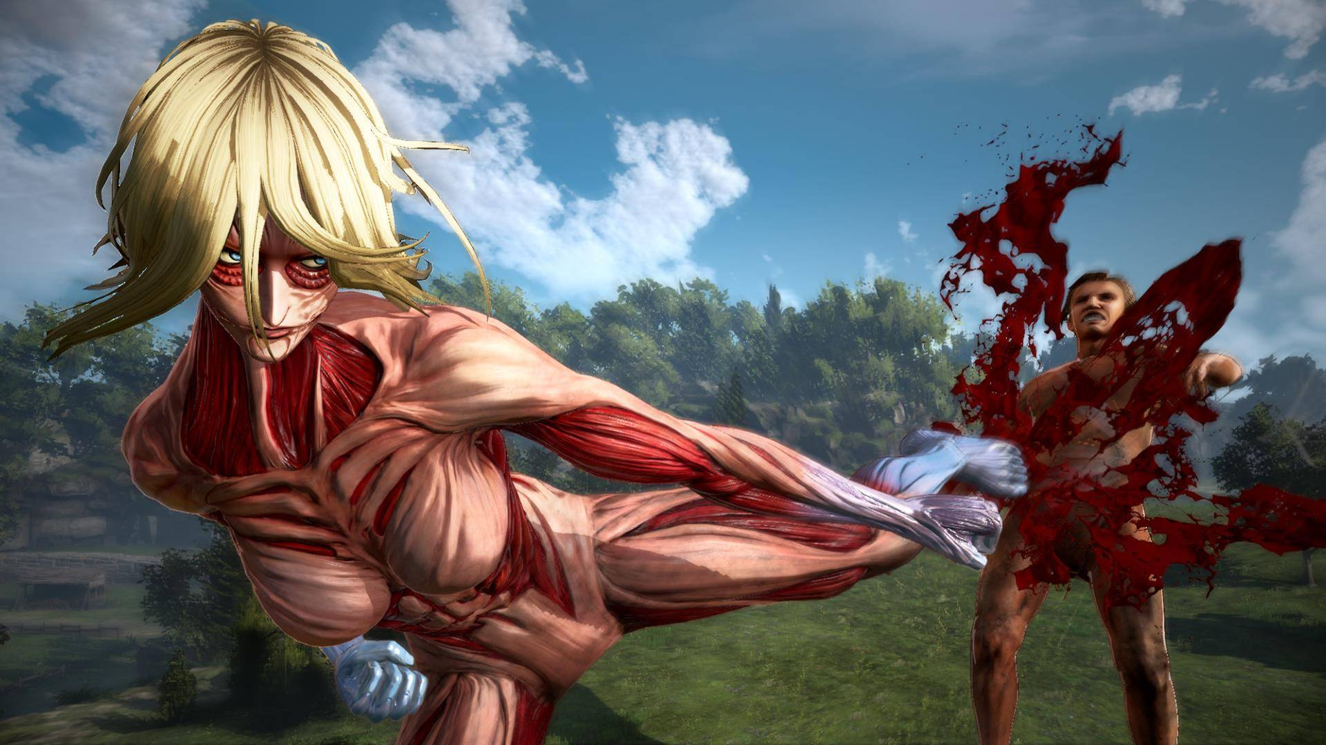 Anime Wallpaper Steam Attack On Titan 2 Lands In North America Amp Europe On March