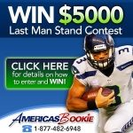 NFL Last Man Standing Contest at America's Bookie