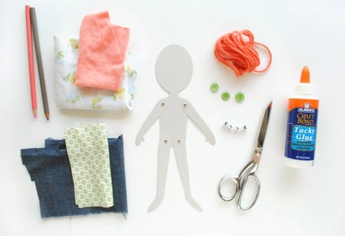 DIY Articulated Paper Dolls ⋆ Handmade Charlotte