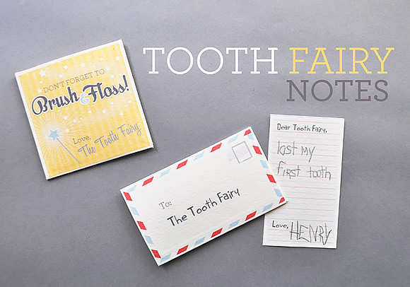 Printable Tooth Fairy Notes ⋆ Handmade Charlotte