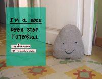 DIY Friendly Rock Doorstop  Handmade Charlotte