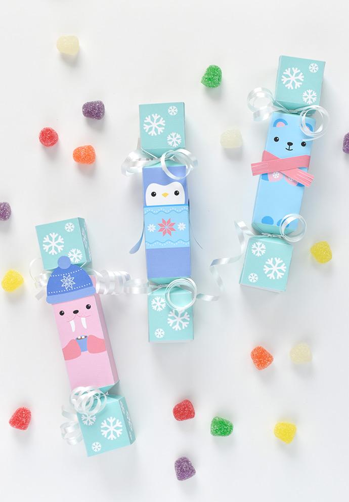 Printable Arctic Animal Party Crackers ⋆ Handmade Charlotte