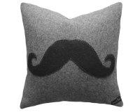 Giveaway! Handmade Mustache Pillow