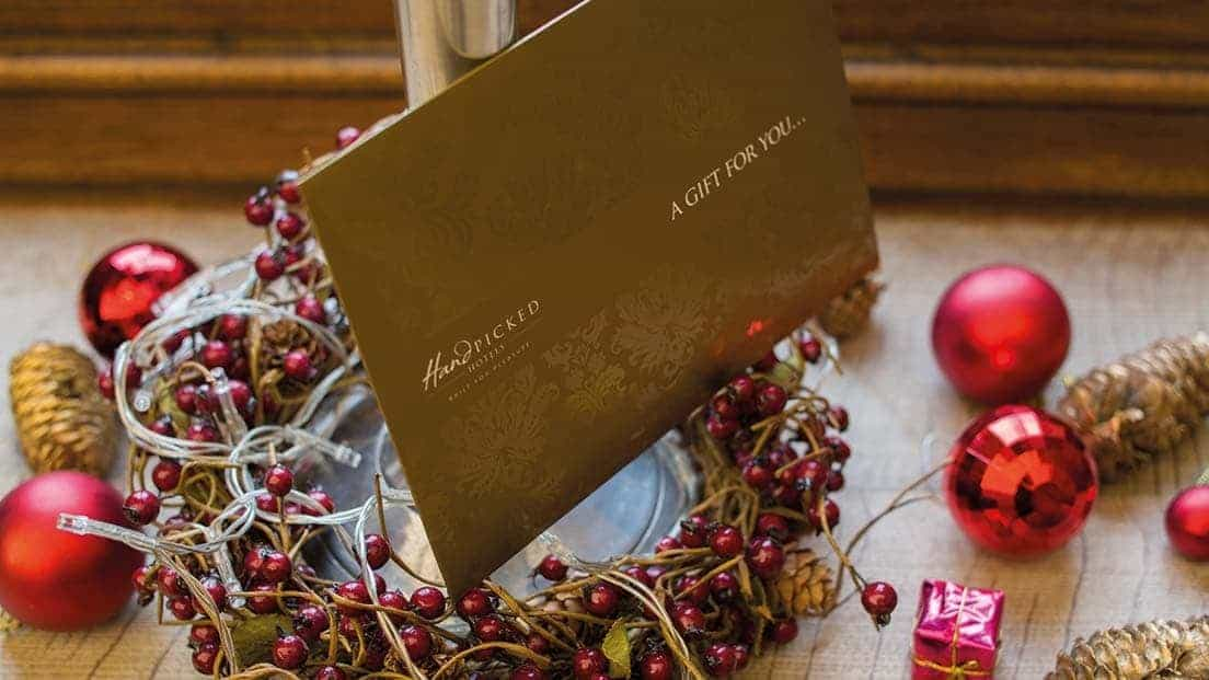 Christmas gift vouchers Hand Picked Hotel