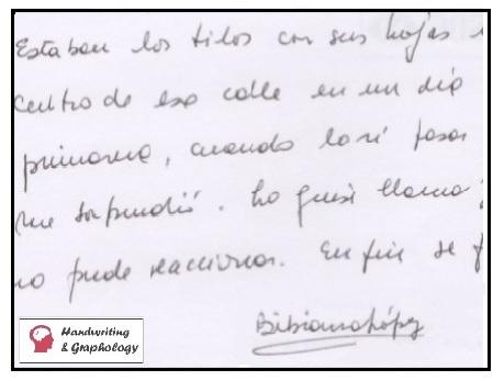 Handwriting Analysis Signature Signature Analysis Tips