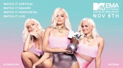 2016 MTV EMA - Pop-Sensation Bebe Rexha moderiert live am 6. November aus Rotterdam