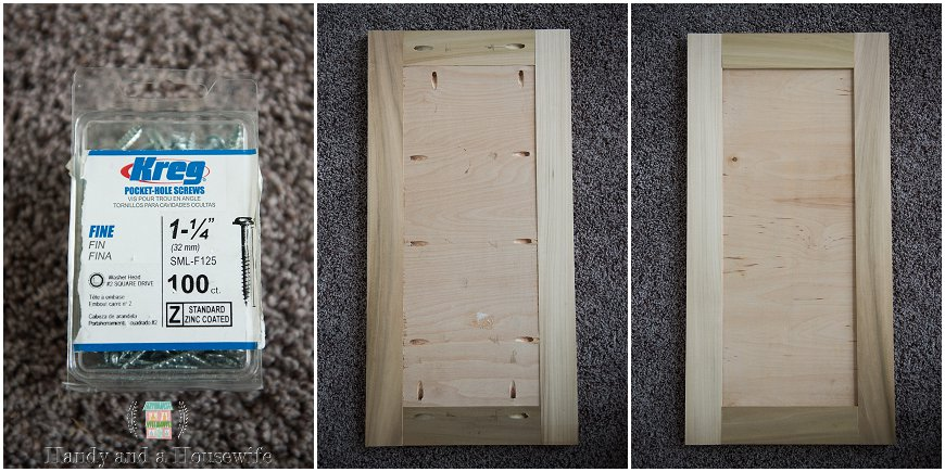 Easy Diy Shaker Panel Cabinet Doors Handy And A Housewife