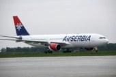 Første langdistansefly til Air Serbia