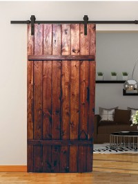Reclaiming Rustic Old Wood for Use as a Hanging Barn Door ...
