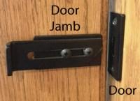 Barn Door Hardware Privacy Locks
