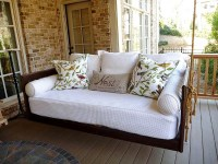 Porch Bed Home - Hanging Porch Beds & Swinging Porch Beds
