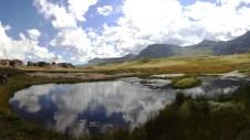 De landschappen in Sehlabathebe lijken zo weggelopen uit The Lord of The Rings. Geen toeval, want Tolkien is geboren in Bloemfontein en gebruikte de Drakensbergen als inspiratiebron.