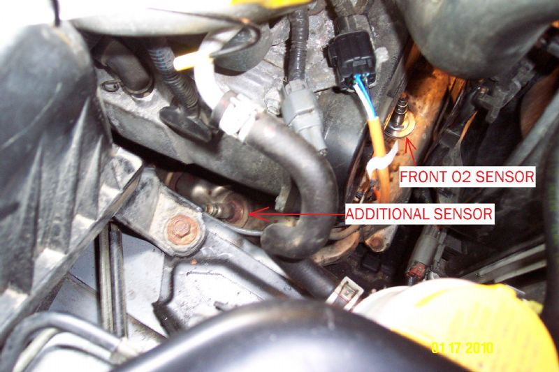 Front O2 Sensor Replacement - 2006 N/A AT - Subaru Forester Owners Forum