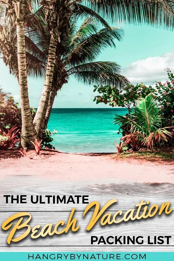 28 Family Beach Vacation Packing List Essentials + FREE Checklist