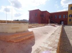 Το υδραγωγείο στην πλατεία του φρουρίου