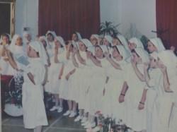 Το ιστορικότερο τμήμα του τοπικού παραρτήματος είναι το τμήμα νοσηλευτριών το οποίο έχουν υπηρετήσει χιλιάδες Χανιώτισσες (φωτ. από παλαιότερη ορκομωσία)