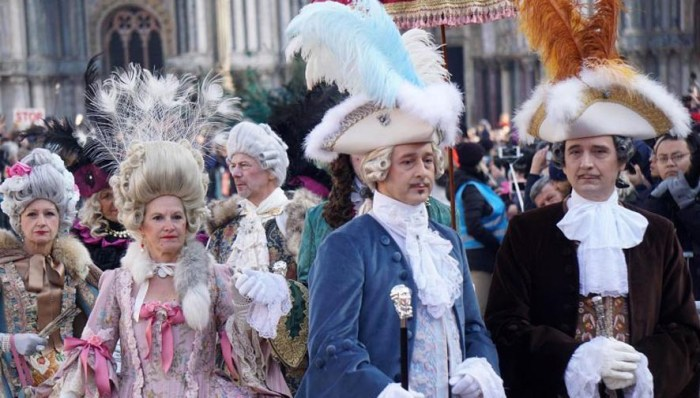 Venice kicks off carnival season with Flight of the Angel event