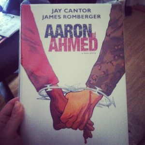 my copy of Aaron and Ahmed