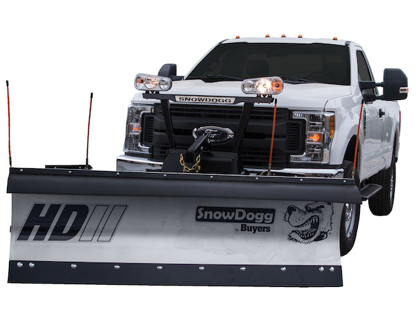 SnowDogg HD80 II Stainless Steel Snow Plow - SnowDogg HD Series Plow