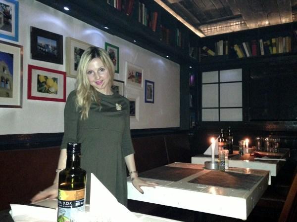 Meteora restorant & Pinko coat