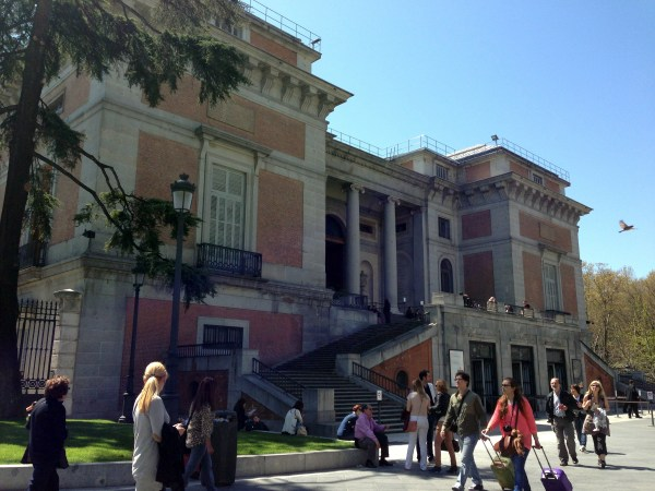 Madrid city & Museo del Prado