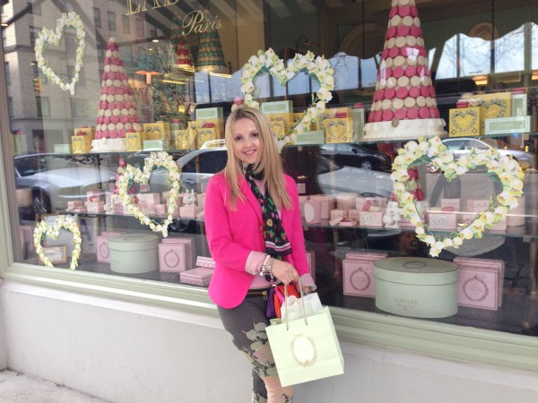 Laduree Paris & H&M blazer