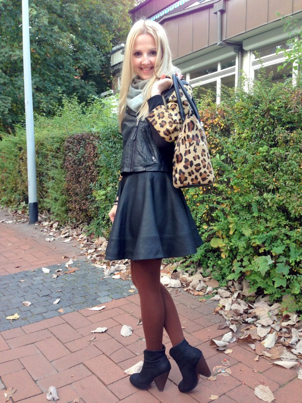 Asos jacket & Asos skirt