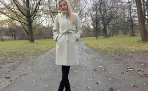 Elfen Couture Berlin coat & Isabel Marant boots