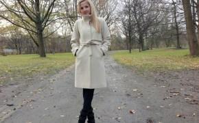Elfen Couture Berlin coat & Isabel Marant boots