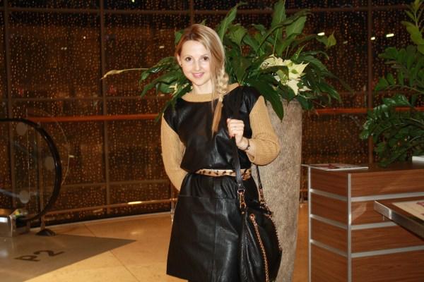 Asos dress & Michael Kors bag