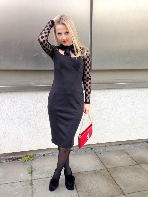 Asos dress & Love Moschino bag