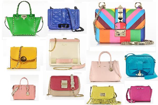 10 Taschen für Frühling/Sommer 2015