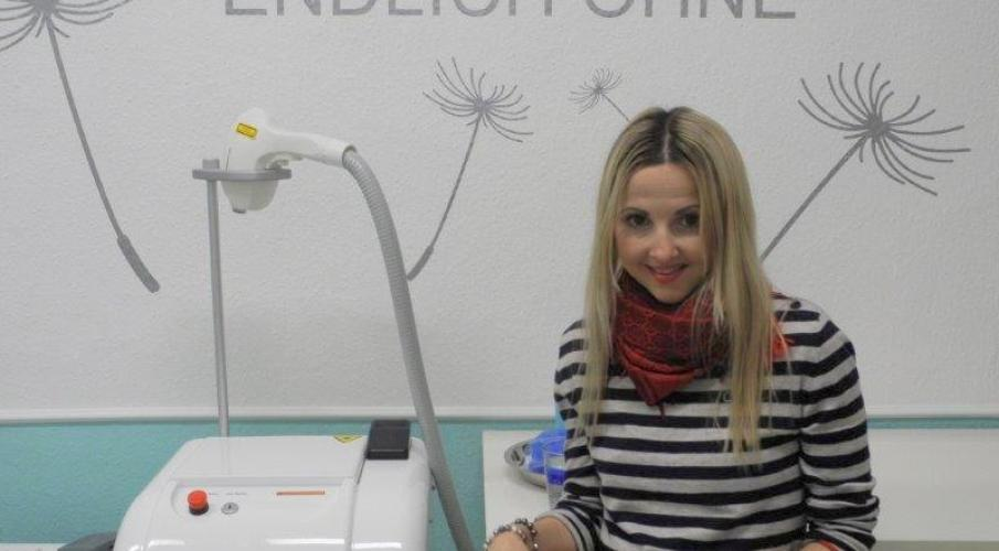 Tattoo removal at ENDLICH OHNE in Hanover