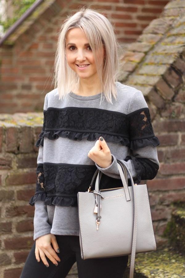 Twin Set Sweatshirt, Marc Jacobs Tasche, Modeblogger aus Hannover