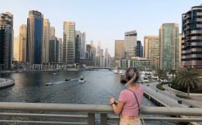 Dubai Marina, Travel Blogger