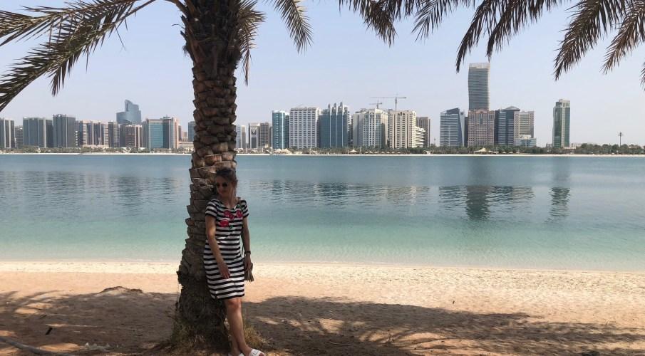 Ein Tag in Abu Dhabi