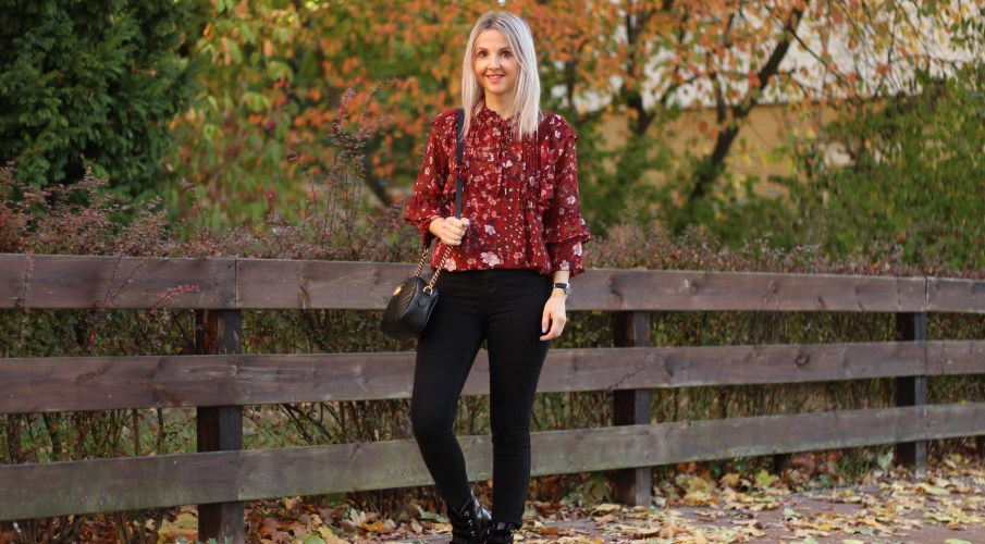 Flowerprint Blouse