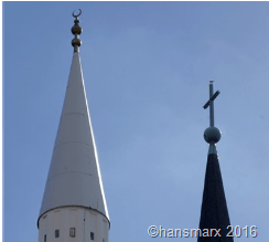 Kreuz mit dem Islam