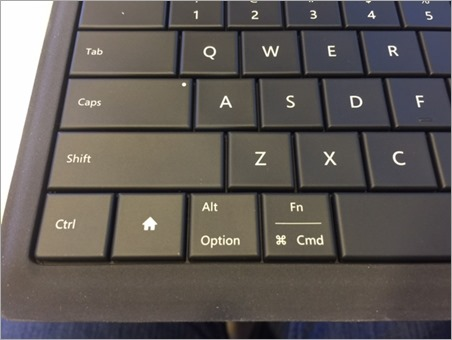 Microsoft Universal Foldable Keyboard - Home Keys