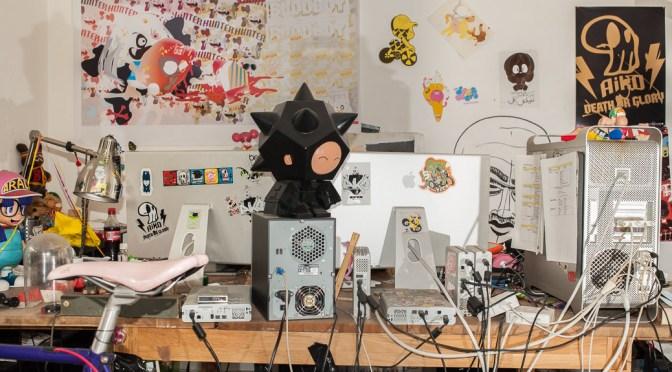 De studio van Hanazuki