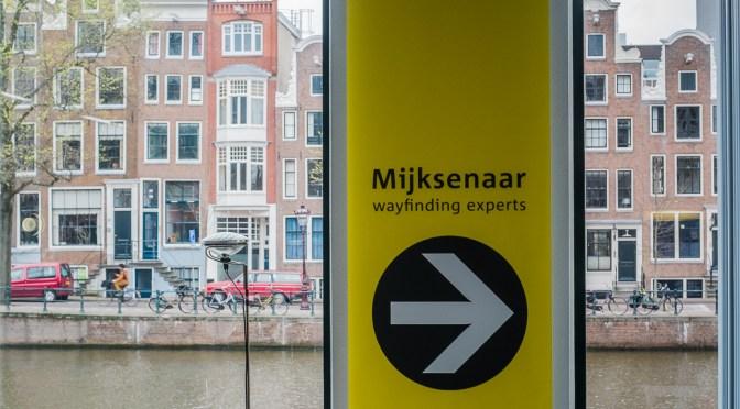 De Studio van Mijksenaar wayfinding experts