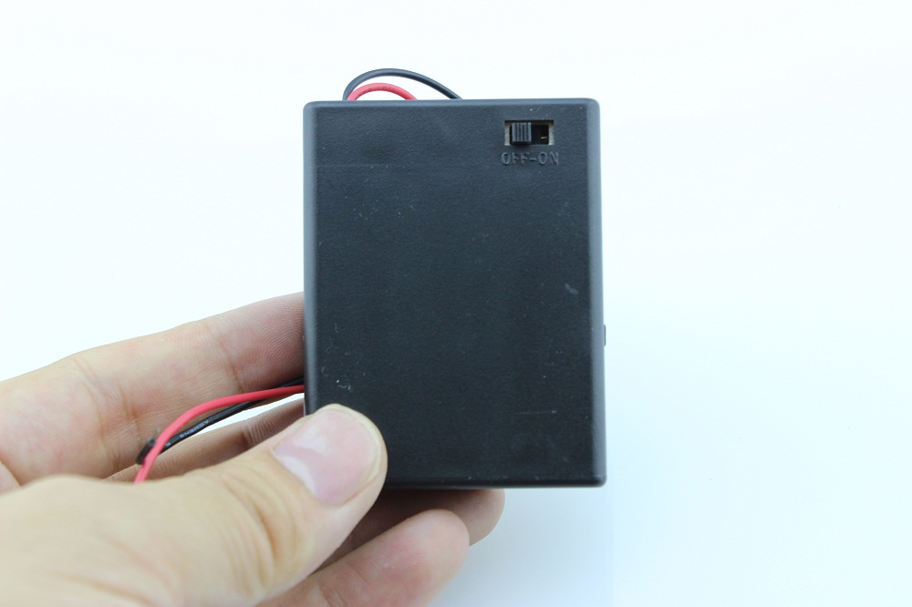 Battery Holder With Switch 4 X Aaa Battery Holder 4xaaa