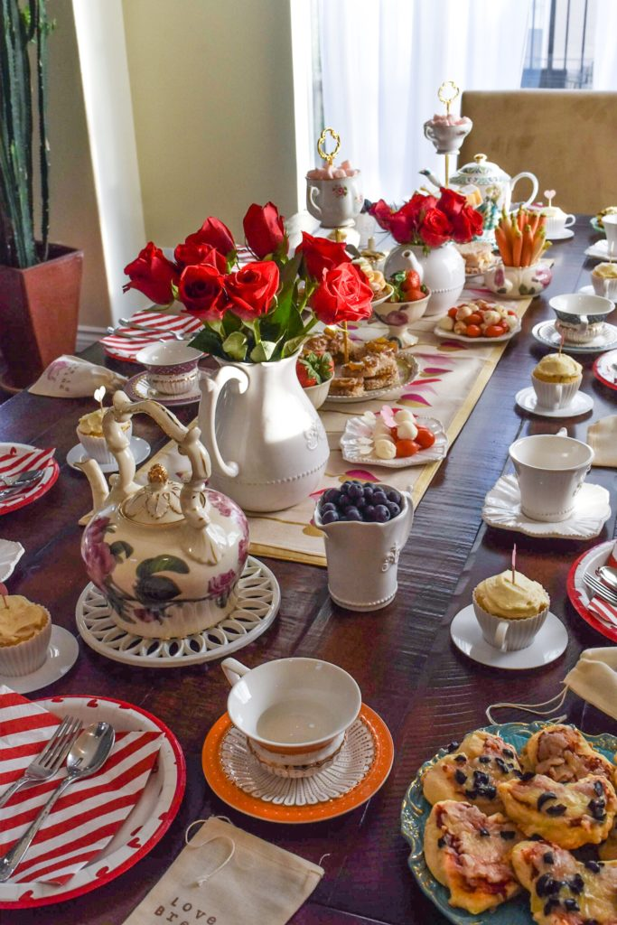How To Throw a Valentine\u0027s Day Tea Party - Happily Ever Adventures