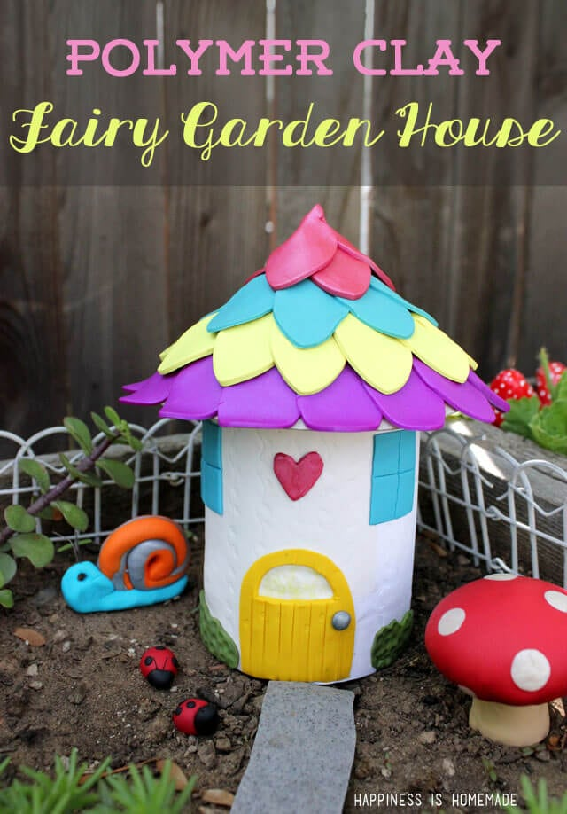 Make Your Own Fairy Garden Houses  Decorations - Happiness is Homemade