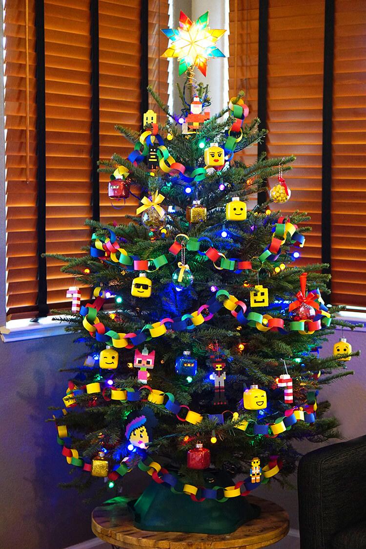 Kids39 Lego Themed Christmas Tree Happiness Is Homemade