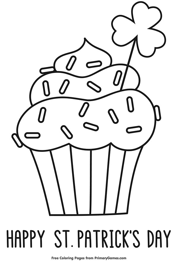 Free St Patrick\u0027s Day Coloring Pages - Happiness is Homemade