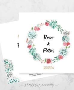 faire-part-mariage-couronne-succulentes-baies-fleurs-peinture-aquarelle