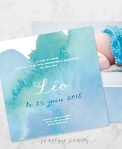 faire-part-naissance-peinture-aquarelle-bleu-vert-garcon-e