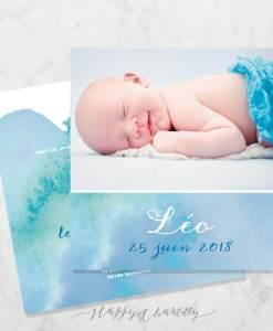 faire-part-naissance-peinture-aquarelle-bleu-vert-garcon